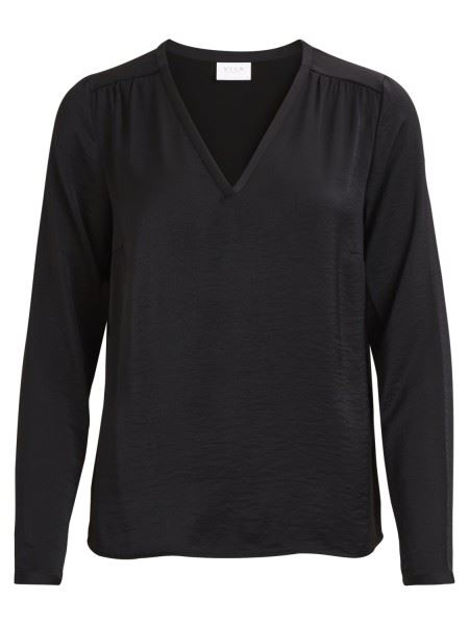 VICava l/s v-neck top noos topfashion