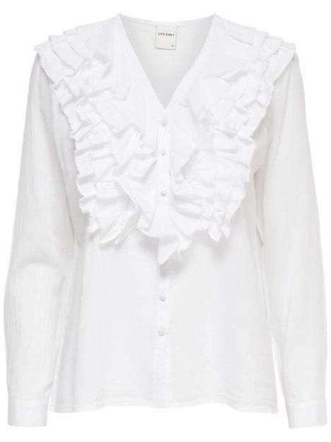 ONLSiena ls frill shirt topfashion
