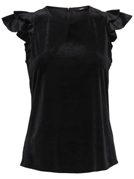 onlVEGA FRILL TOP Topfashion