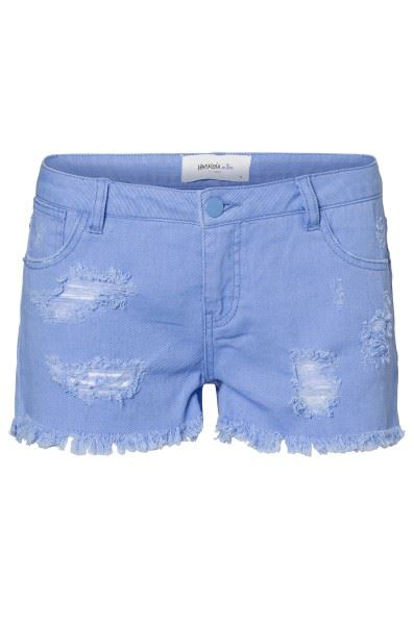 VMpaula lw color destroy shorts topfashion