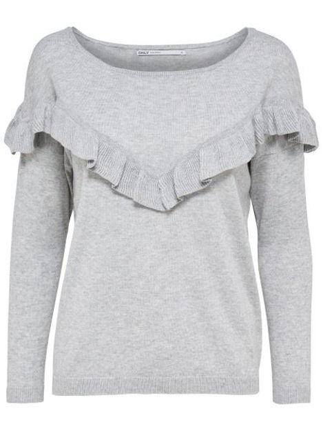 ONLFreya l/s boatneck pullover topfashion