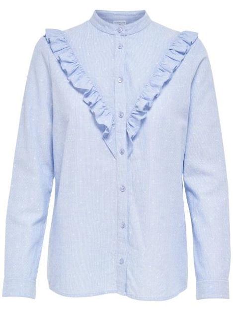 JDYFutura l/s frill shirt topfashion