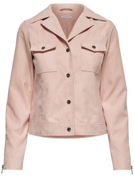 JDYlife faux suede jacket Topfashion