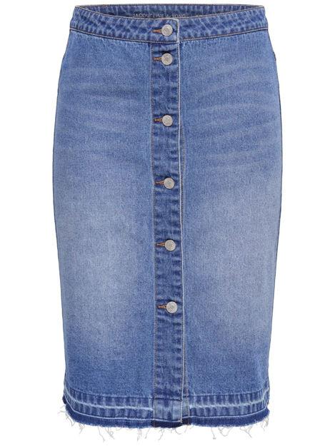 JDYPeach butto knee skirt