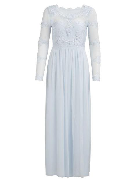 VIgerorgious l/s maxi dress