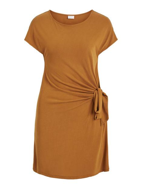 VIatetsy s/s knot dress