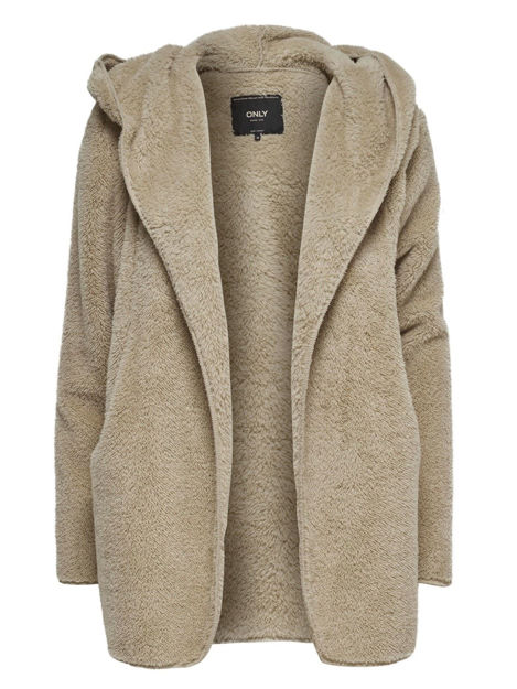 ONLnew CONTACT HOODED SHERPA