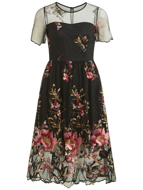 VIpernos/s embroidery dress