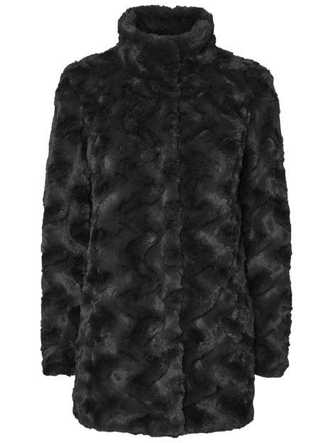 VMcurl high neck faux fur jacket NOOS