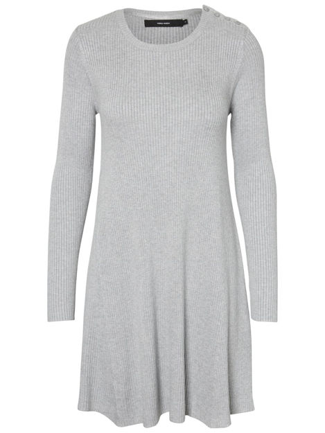 vmgilo buttonshoulder ls dress