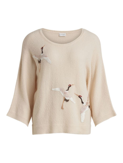 VIESTONI KNIT BIRD 7/8 TOP