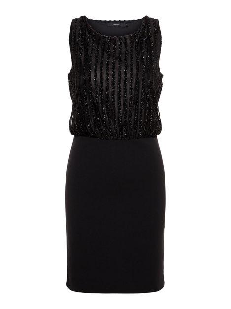 VMshane s/l short dress