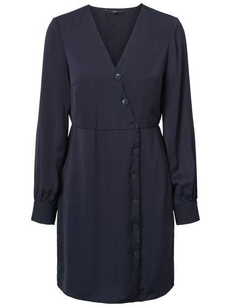 VMBAYA L/S SHORT DRESS WVN