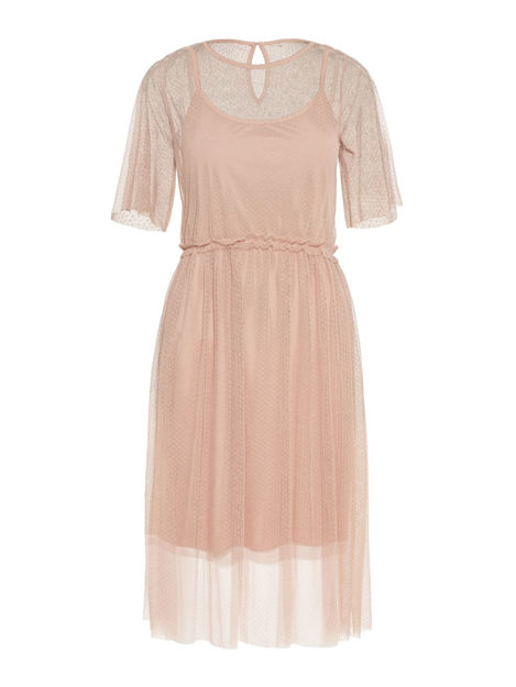 VMLINNA 2/4 BLK DRESS JRS
