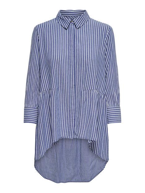 ONLcanberry 3/4 stripe shirt