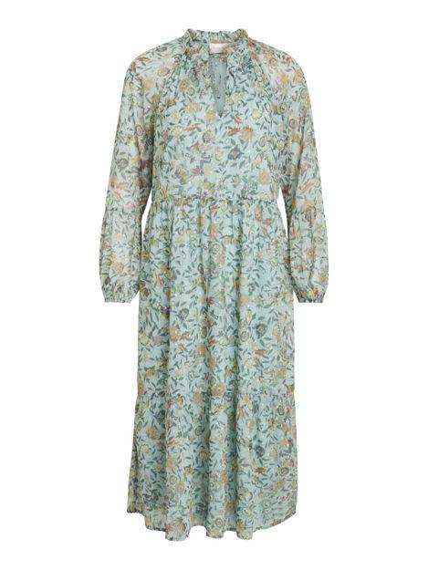 VIfalia ls midi dress