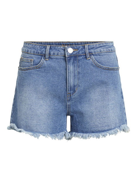 VISOMMER RW CUT OFF DENIM SHORTS