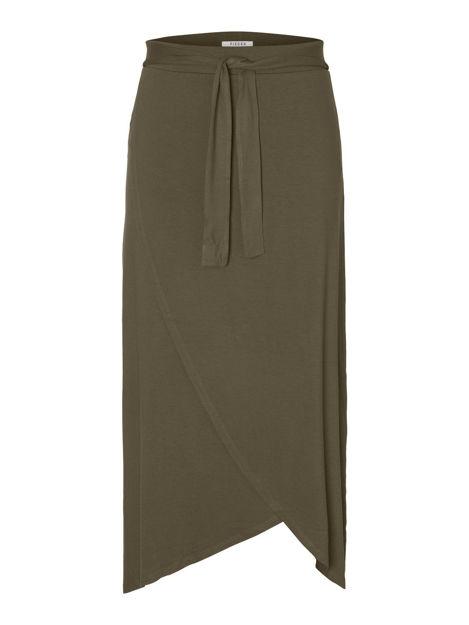 pcelonora hw midi wrap skirt.