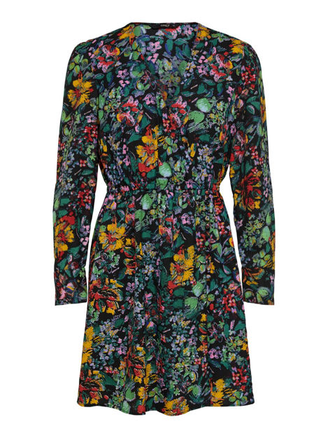 ONLREIGN L/S SHORT DRESS WVN