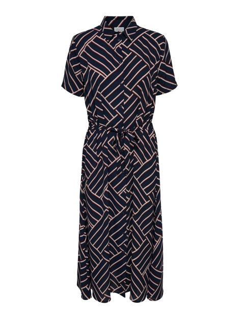 JDYWIN TREATS S/S LONG DRESS WVN