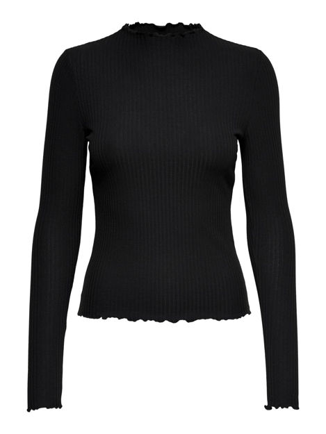 ONLEMMA L/S HIGH NECK TOP NOOS JRS