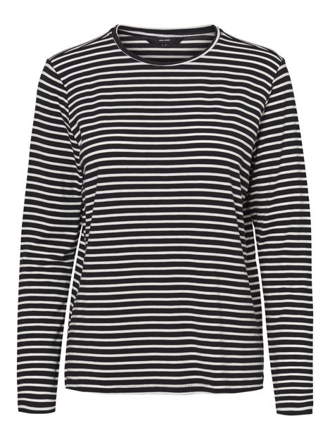 VMAVA L/S STRIPE TOP GA