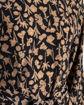 Chiffon skjorte med bindebånd.