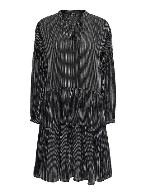 ONLNEW ATHENA L/S DRESS WVN