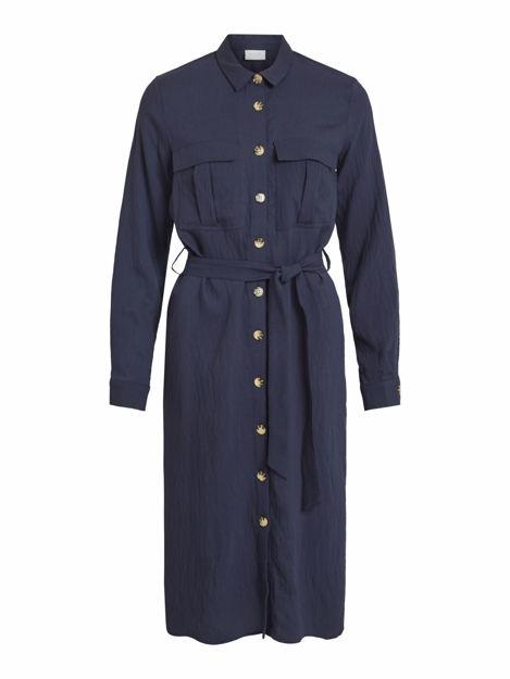 VISELINA L/S SHIRT DRESS