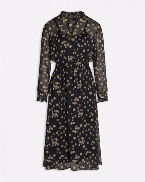 Lang kjole m. bomber