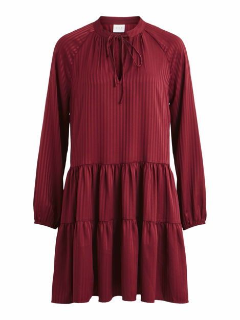 VIAMELIAN L/S SHORT DRESS /KA