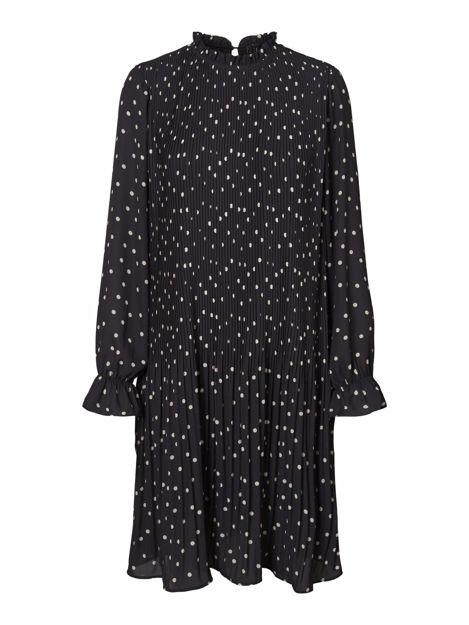 VMDORIT L/S PLEAT SHORT DRESS FD19