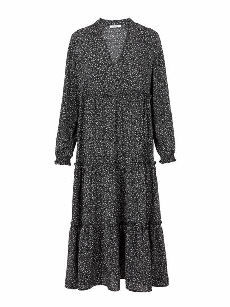 PCSICCA LS MIDI DRESS D2D