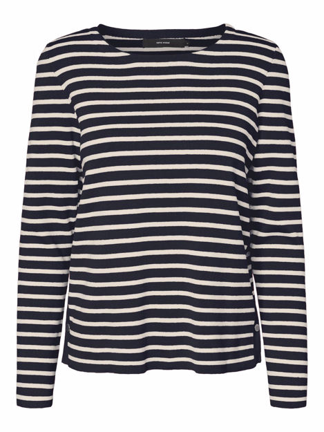 VMSAILOR LS STRIPE BLOUSE BOO