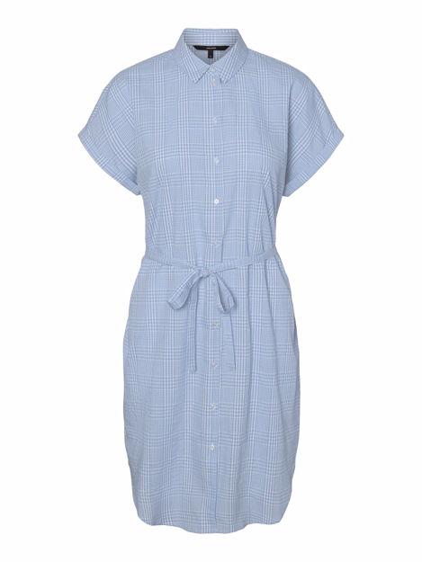 VMHEAVEN SL ABK SHIRT DRESS WVN