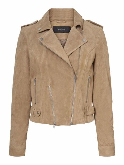 VMroycelouise short suede jacket