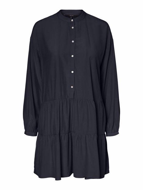 VMMAJA L/S SHORT DRESS WVN