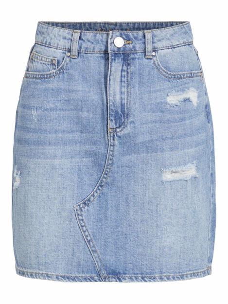 virosabell hw short denim skirt.