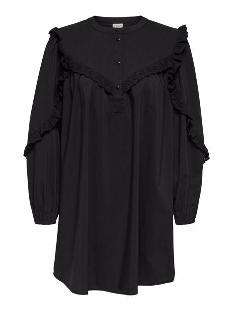 JDYENYA LIFE L/S SHORT DRESS WVN