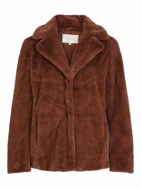 VIKODA FAUX FUR JACKET/SU
