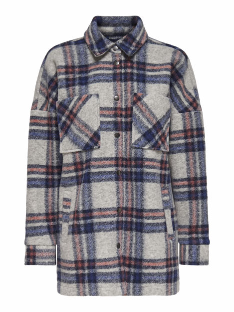 ONLJOAN-LOU L/S CHECK SHACKET PNT