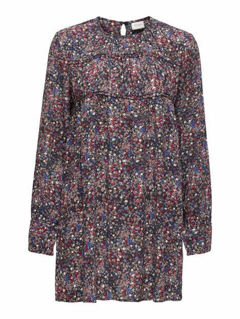 JDYLIV L/S SHORT DRESS WVN
