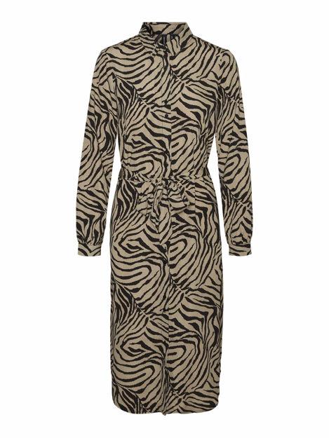 VMLISA GRAFFIC LS SHIRT DRESS FD20