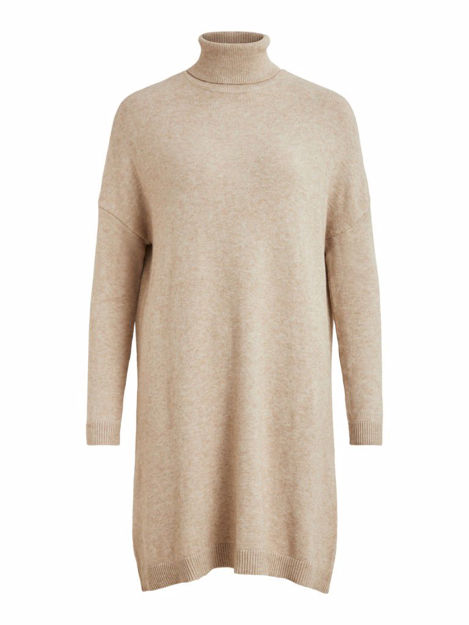 VIRIL ROLLNECK L/S KNIT TUNIC - NOOS