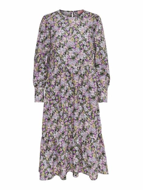 ONLELLIE L/S CALF DRESS WVN