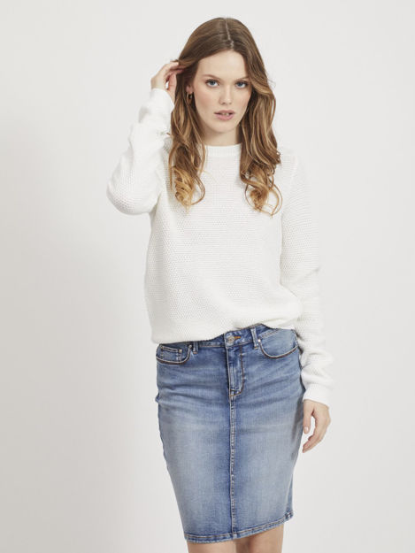 VIchassa l/s knit top