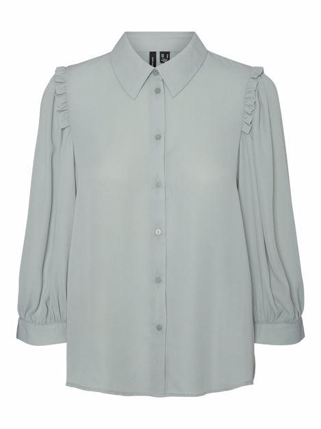 vmpoel 3/4 pleat shirt.