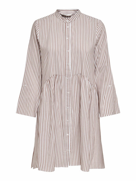 ONLDITTE LIFE 3/4 STRIPE DRESS NOOS WVN