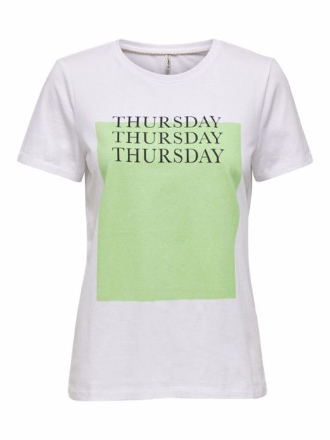 ONLWEEKDAY LIFE REG S/S BOX TOP JRS
