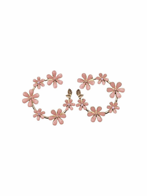OnlDori creol flower earring